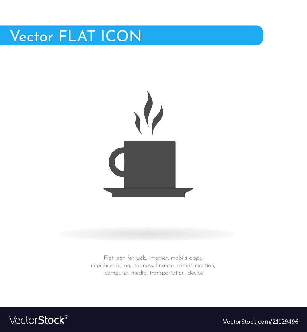 Tea icon for web business finance and