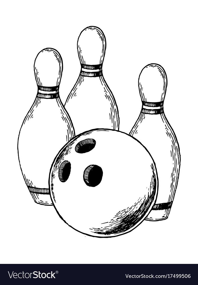 Bowling engraving