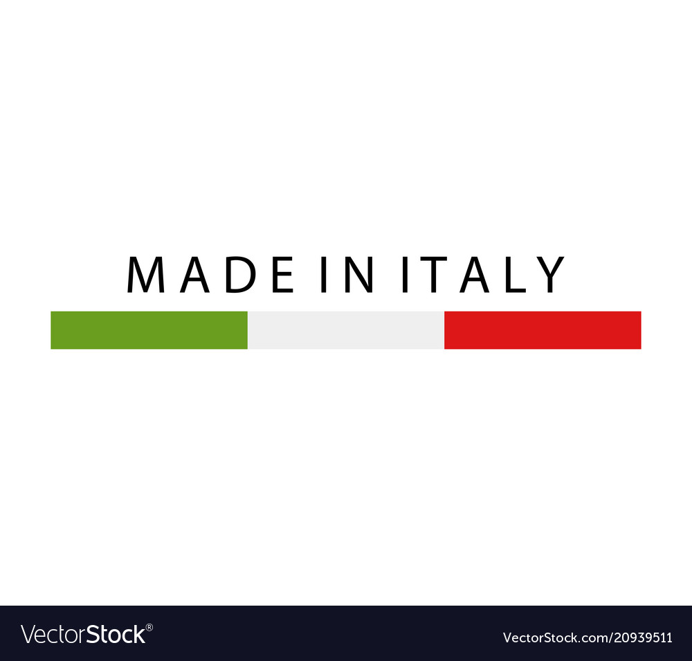 Icon made in italy