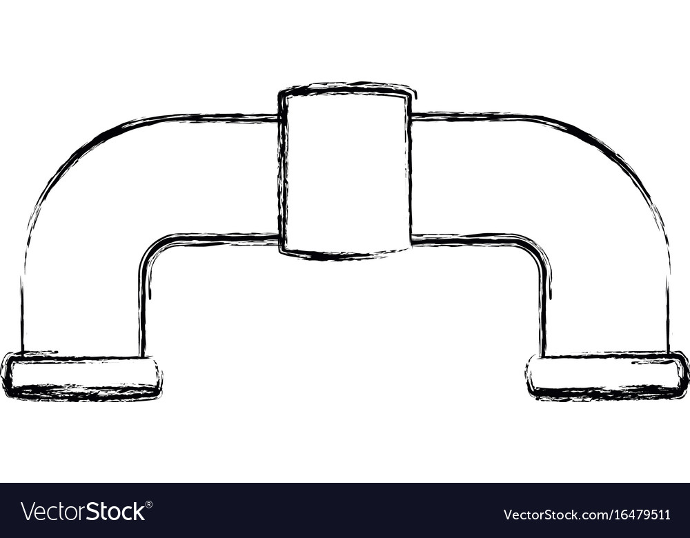 Pipe plumbing symbol
