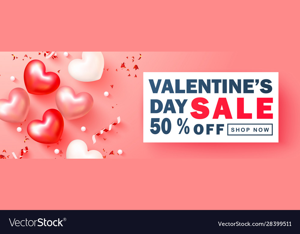 Valentines day sale backgroundromantic