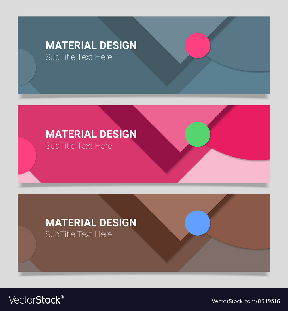 Abstract material design background