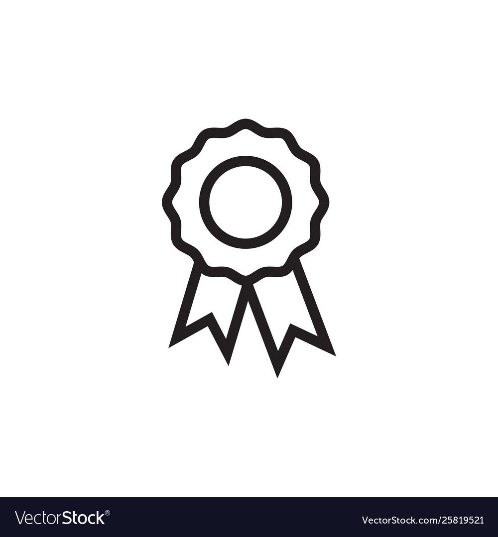Award badge icon graphic design template