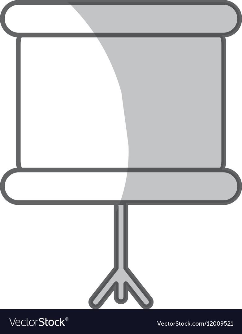 Chalkboard icon design vector image