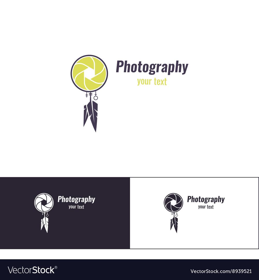 Photography Logo Five vector image