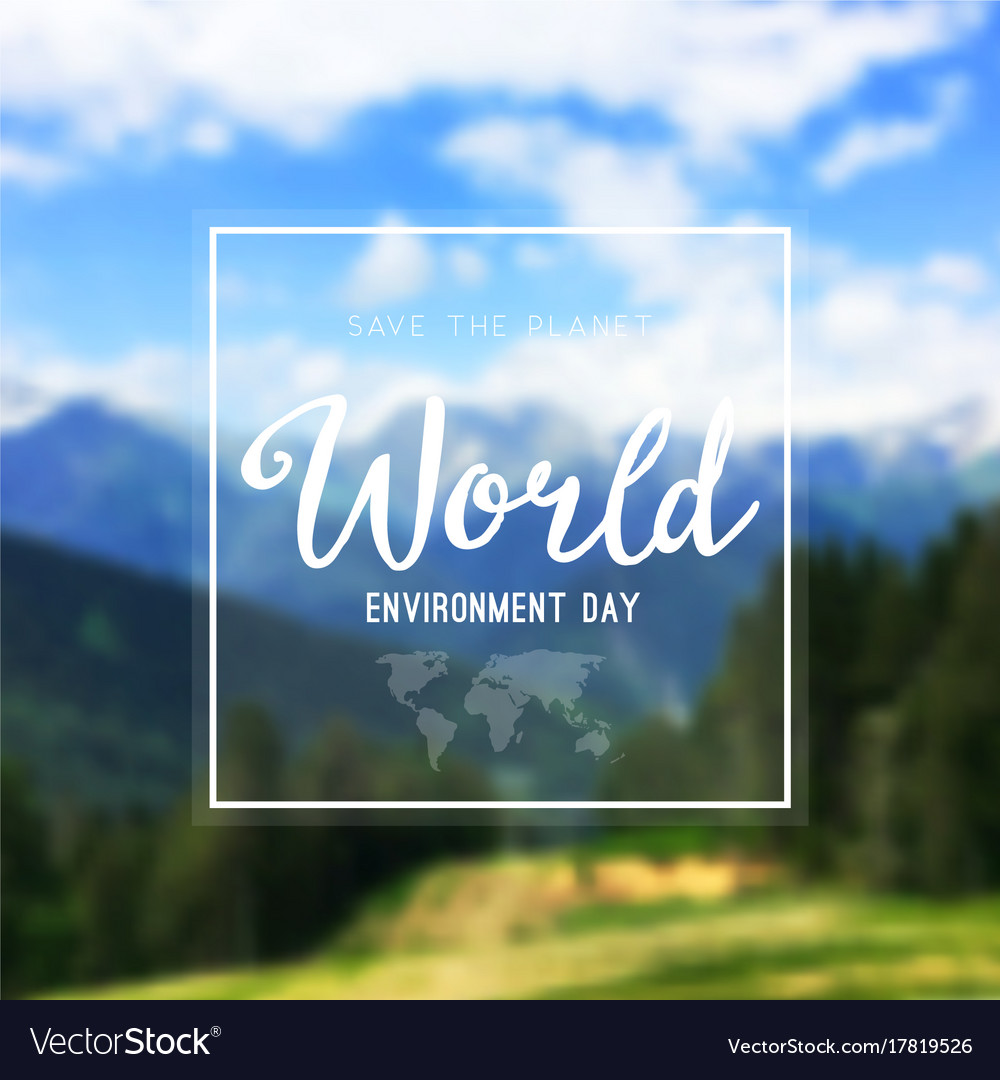A world environment day