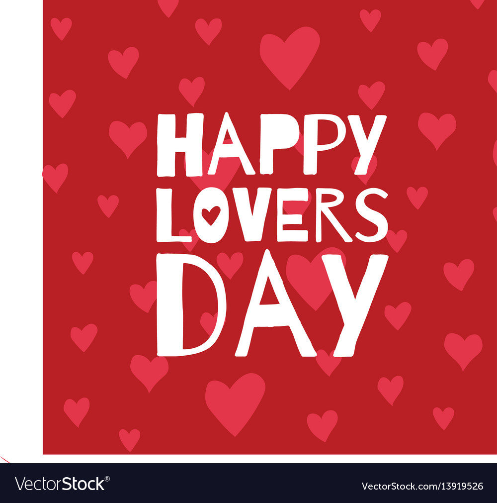 Happy lovers day