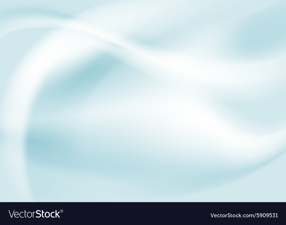Light Blue Gradient Abstract Waves Design