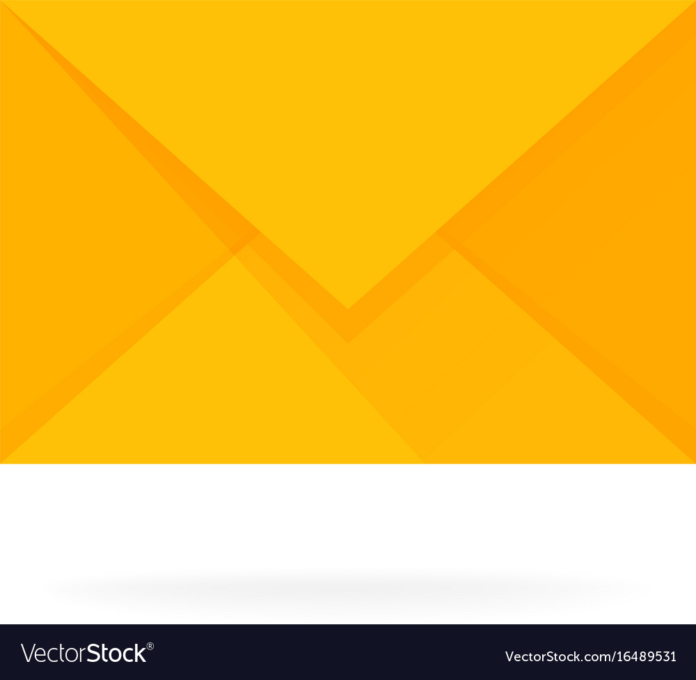 Mail envelope icon email send concept vector image