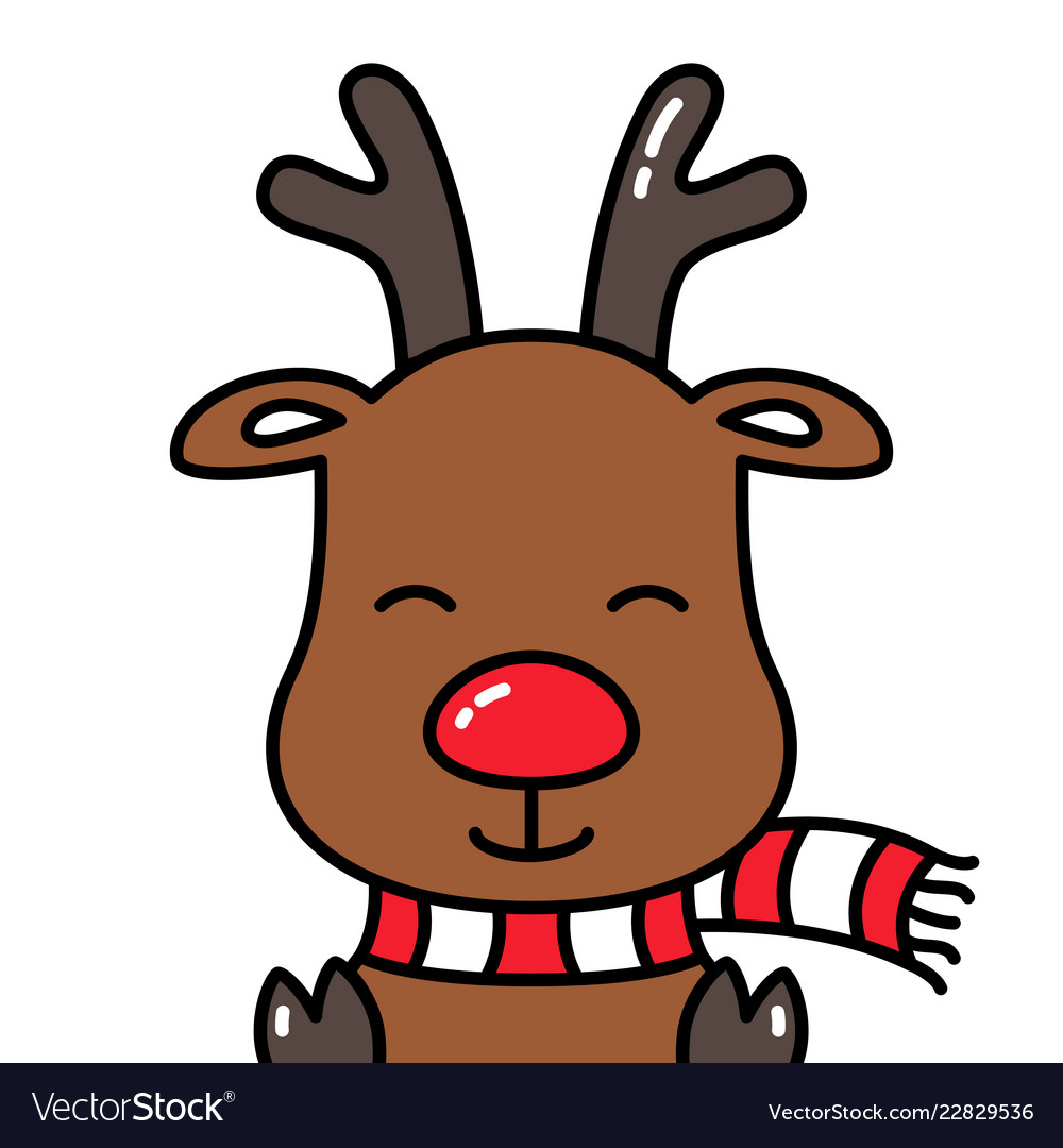 Pinterest • The world's catalog of ideas |Rudolf Reindeer Outline