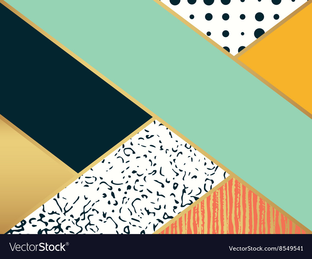 Abstract art pattern for