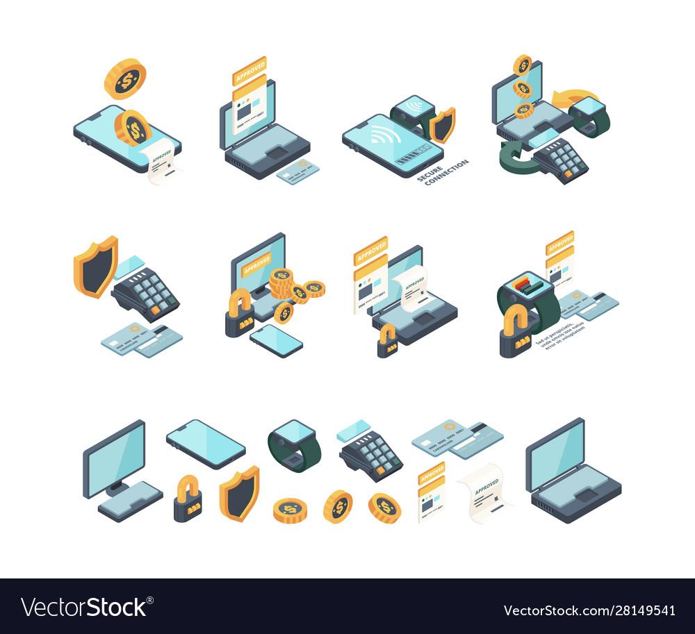 Digital payment online internet banking mobile