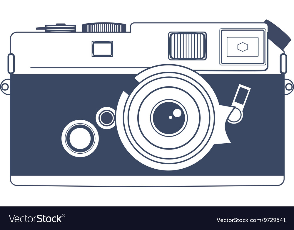 Vintage Camera Clipart Art Royalty Free Vector Image