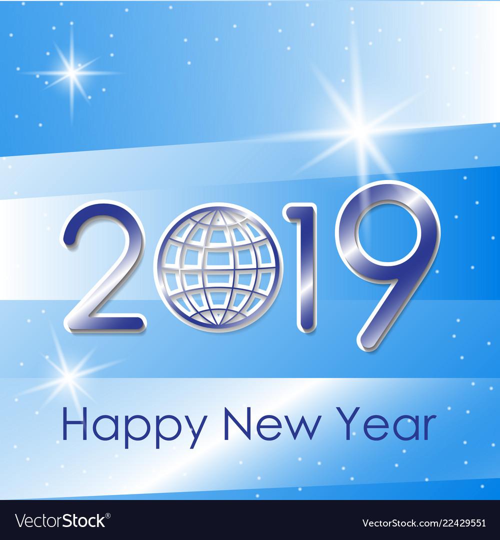 2019 happy new year background