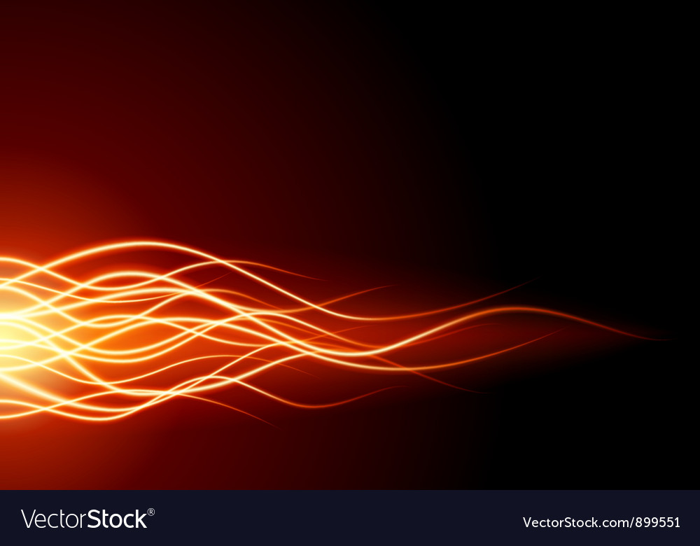 Abstract flame fire vector image