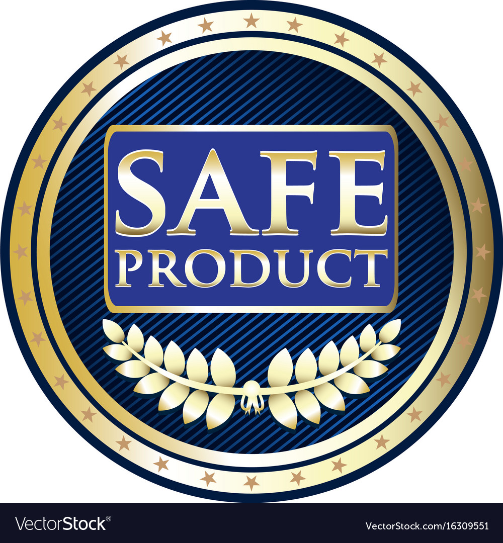 Safe product icon
