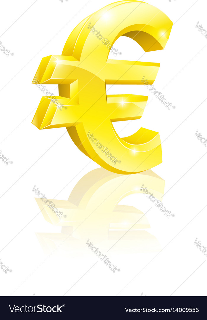 Euro currency sign