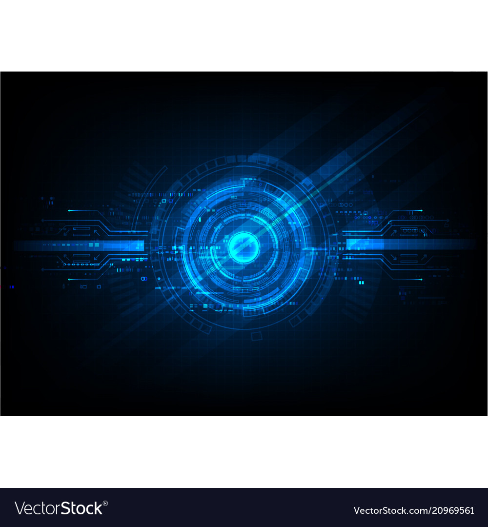 Blue abstract template background
