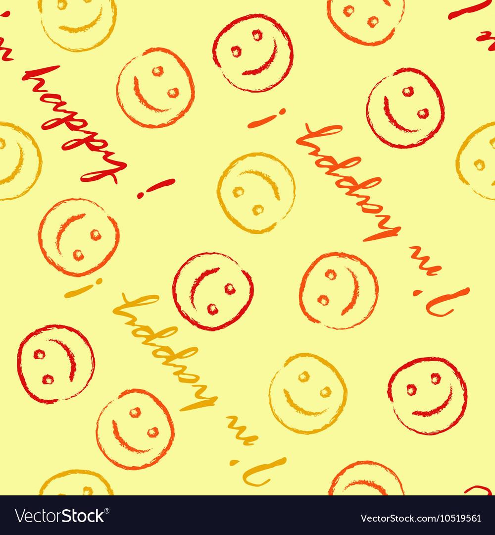 I am happy pattern