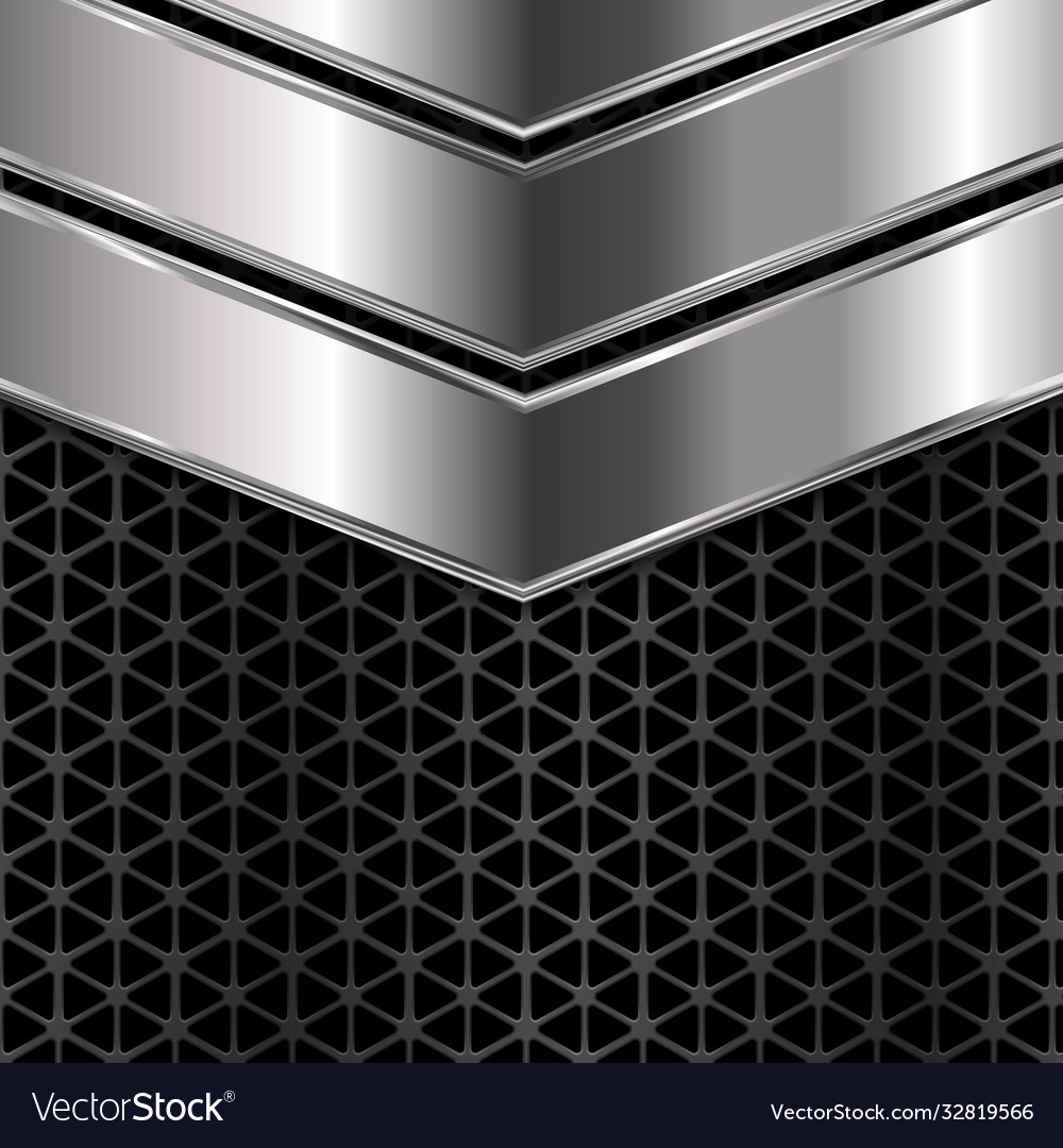 Silver and black metal texture background
