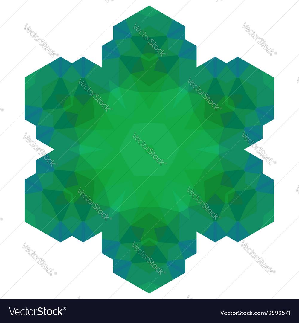 Polygonal Green Symbol