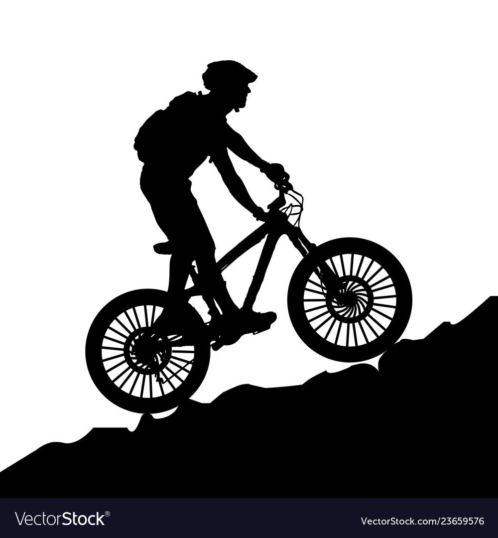 A bicycle riding bike