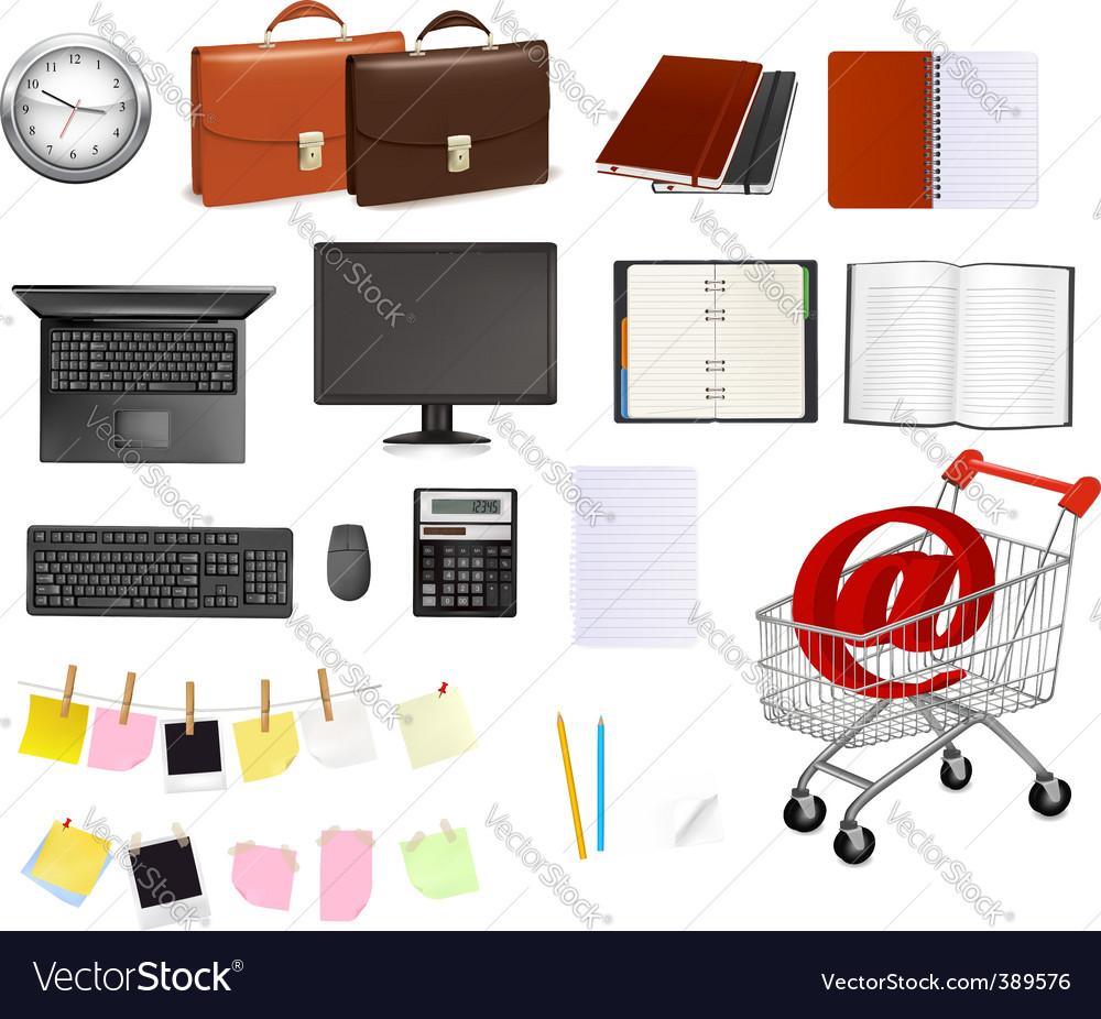 Super mega set business elements
