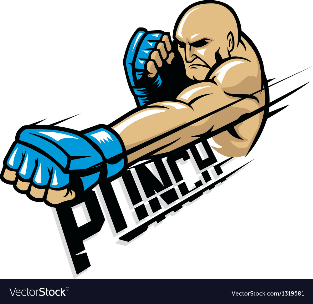 Mma fighter punch