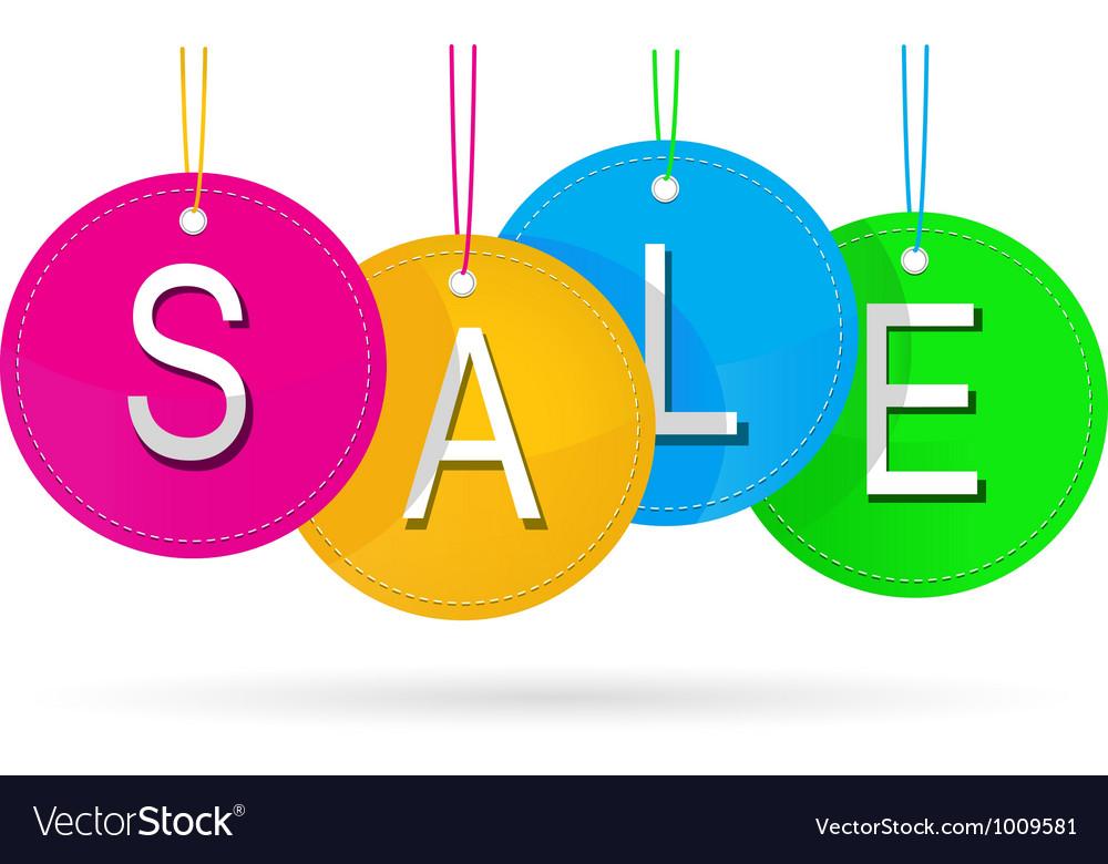 Sale icon vector image