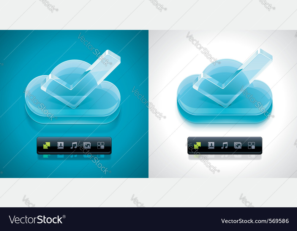 Cloud computing xxl icon