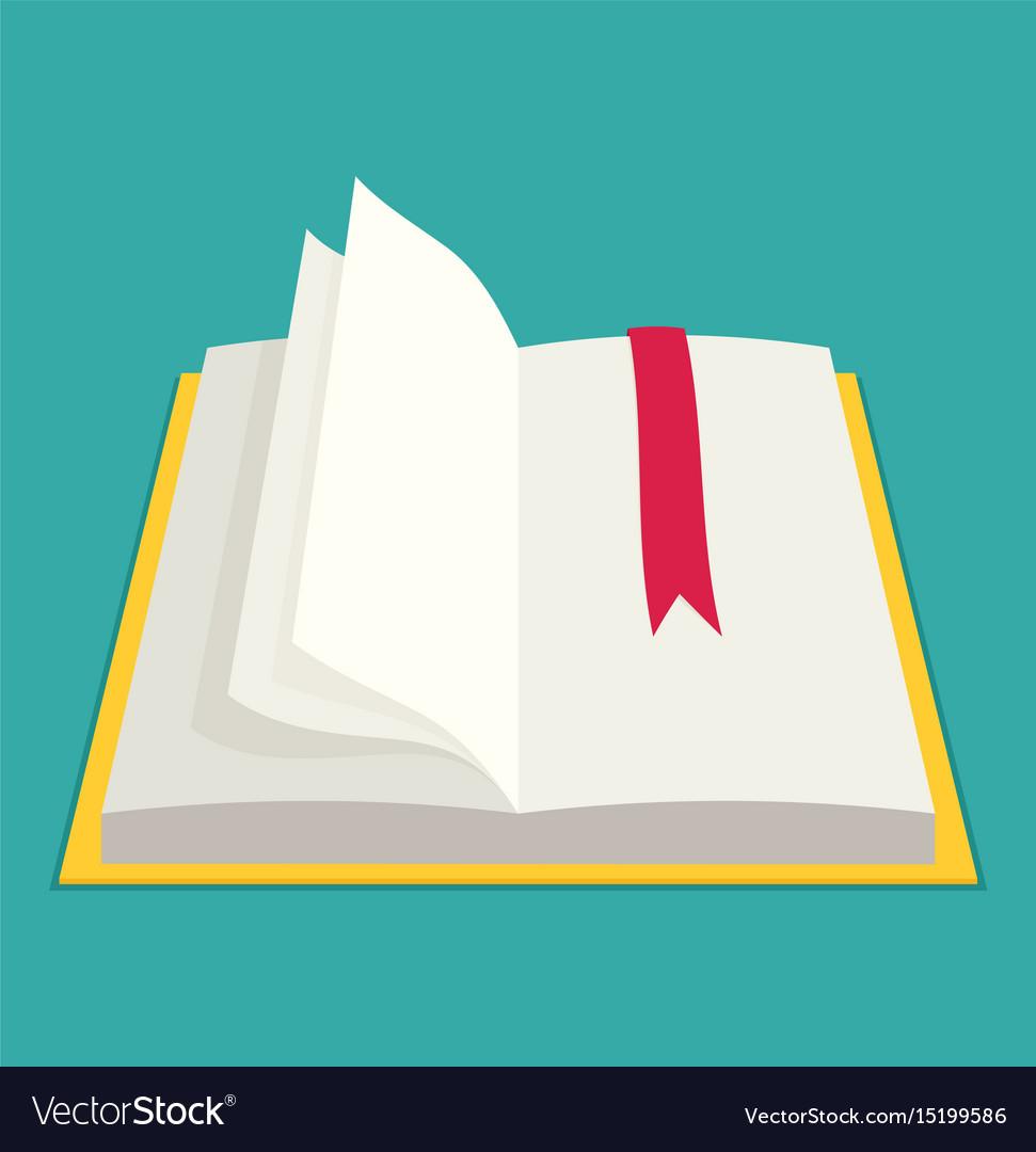 Flat book eps10