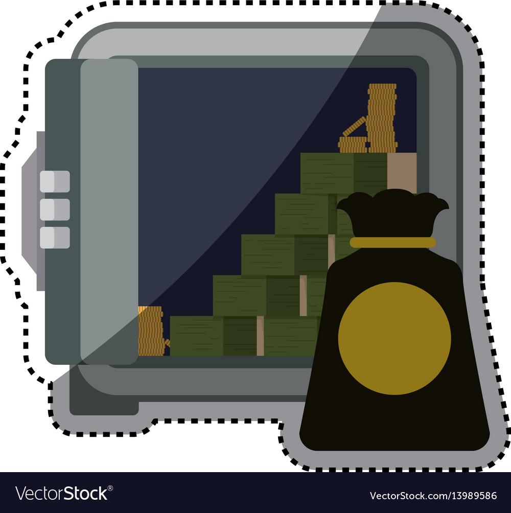 Strongbox safe money bundles