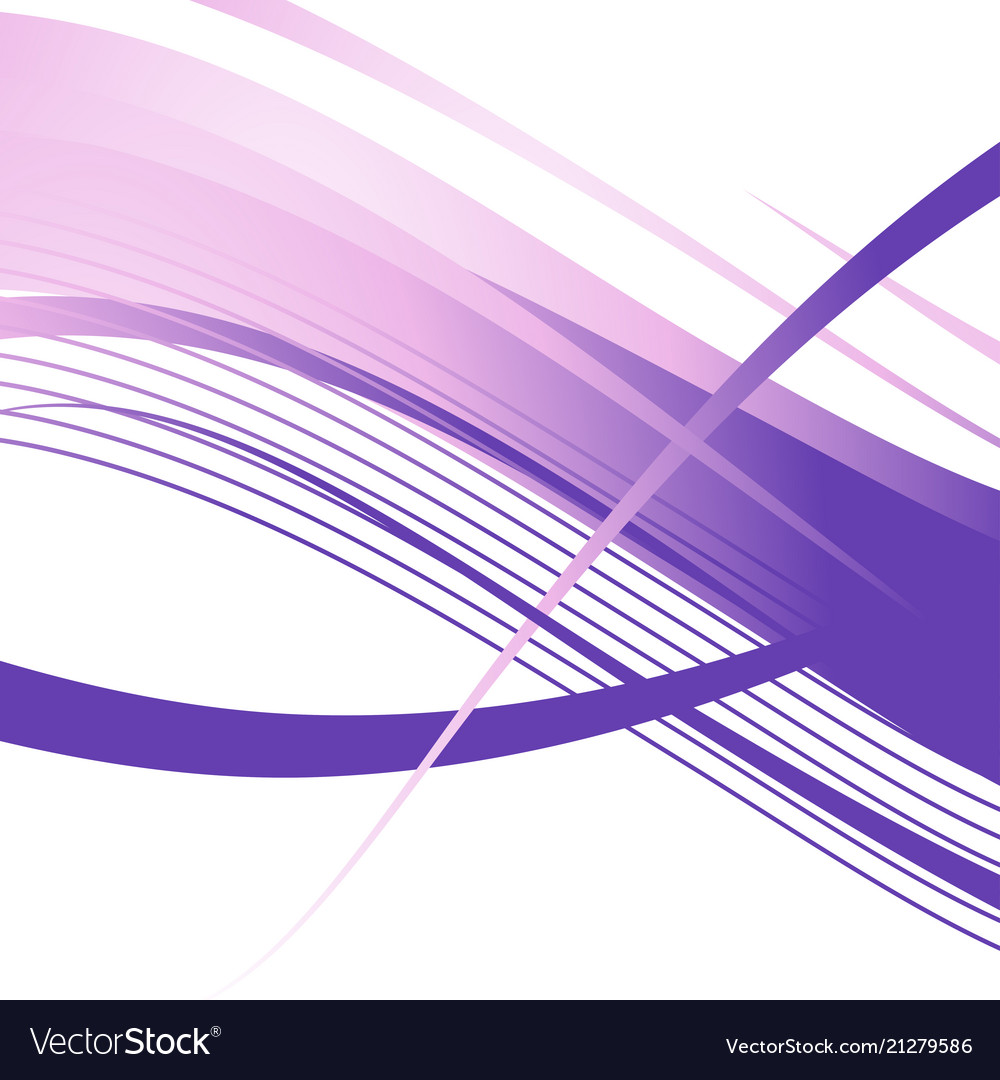 Wavy violet lines abstract background