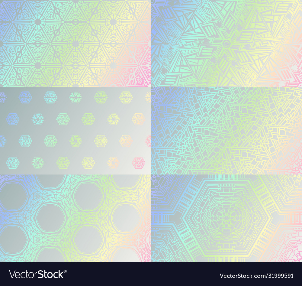 Holographic texture set gradient hologram