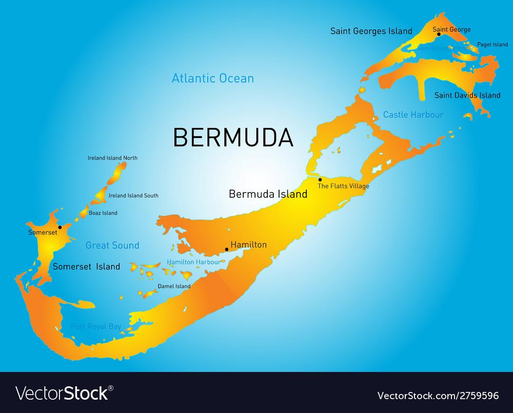 Bermuda Royalty Free Vector Image - VectorStock