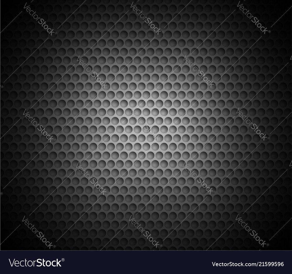 Black abstract background with metal background