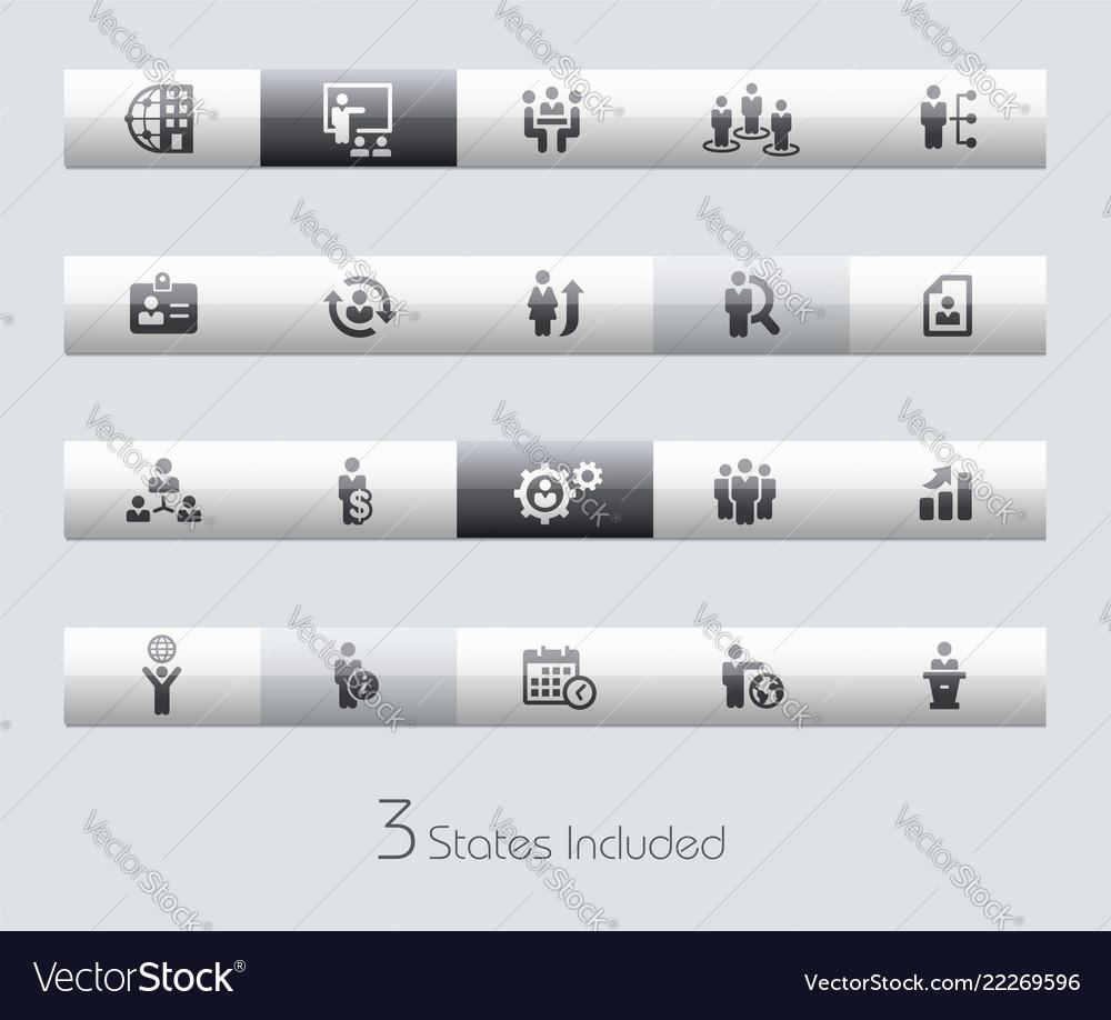 Human resources - toolbars