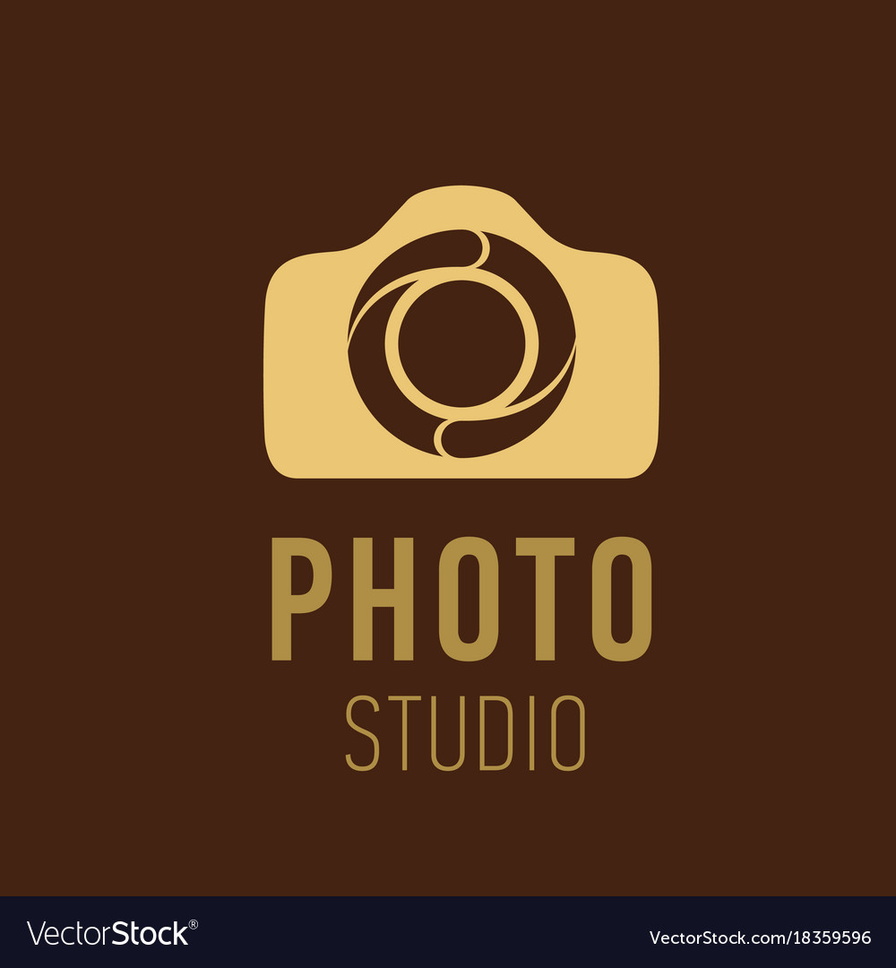 Logo for photographer or photo studio