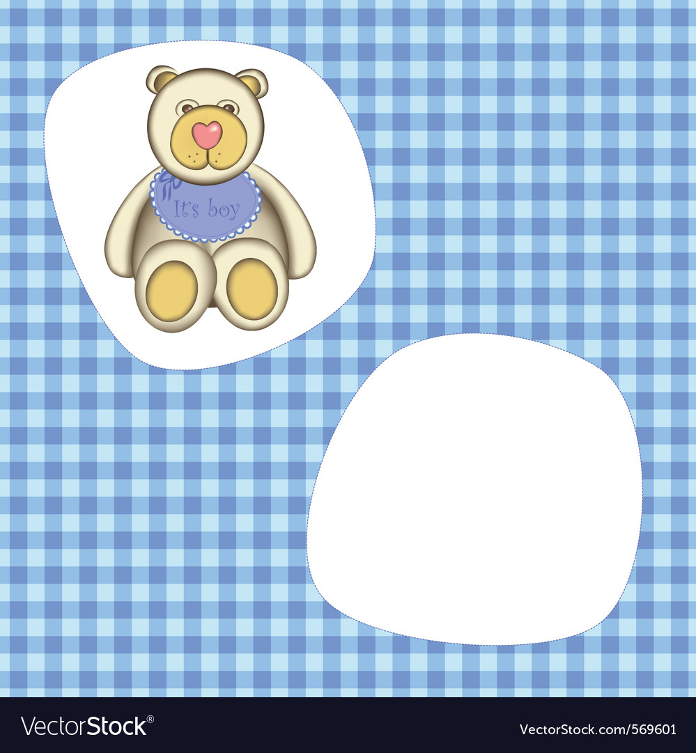 Bear for baby boy
