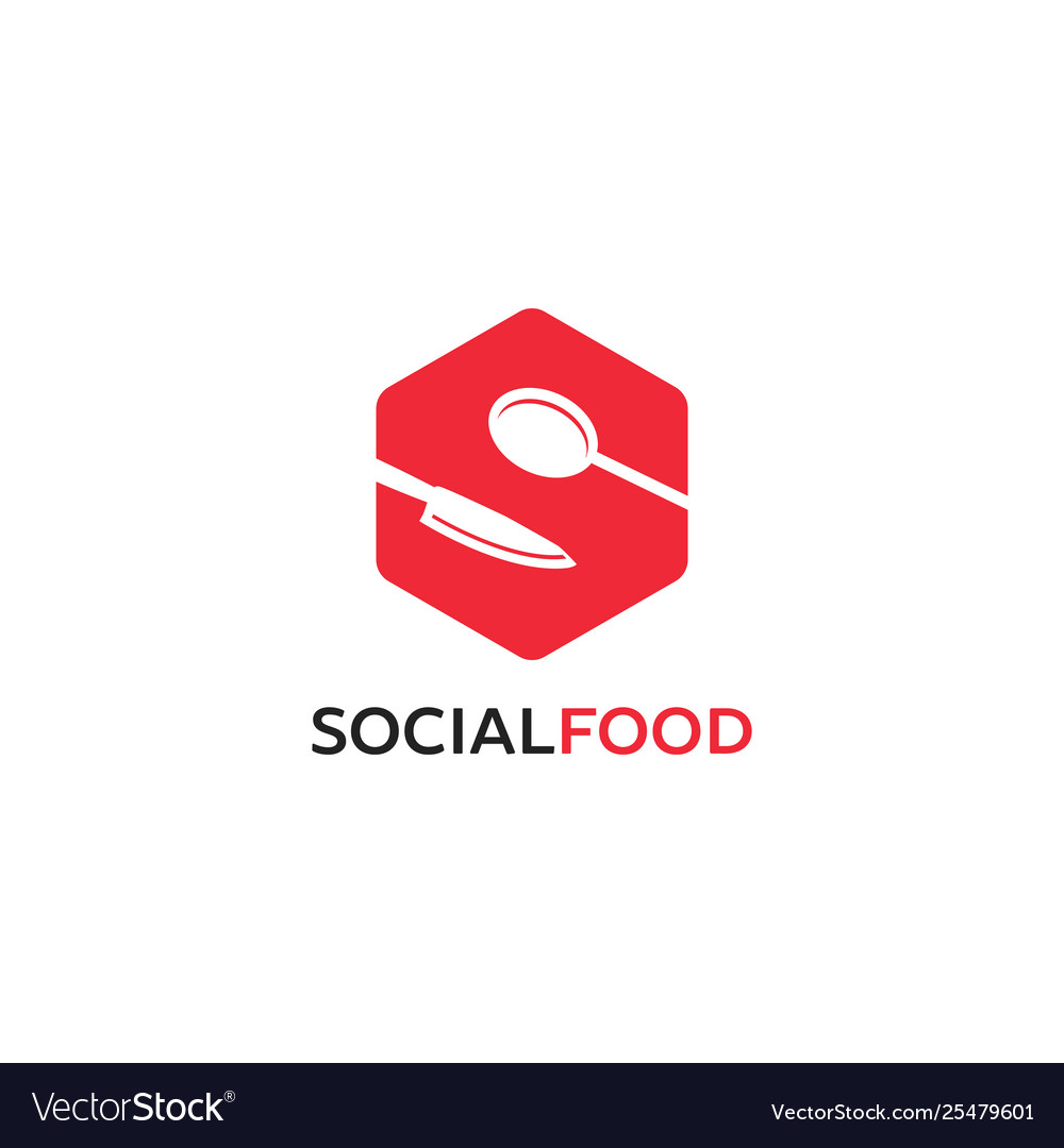 Creative letter s logo designs food infinity