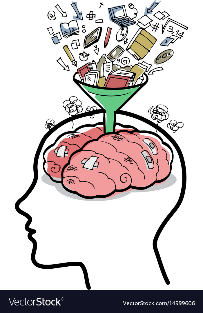 Filling a brain with funnel