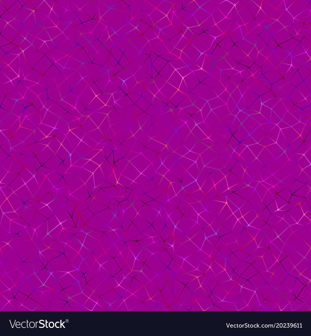 Abstract colorful chaotic polygonal grid vector image