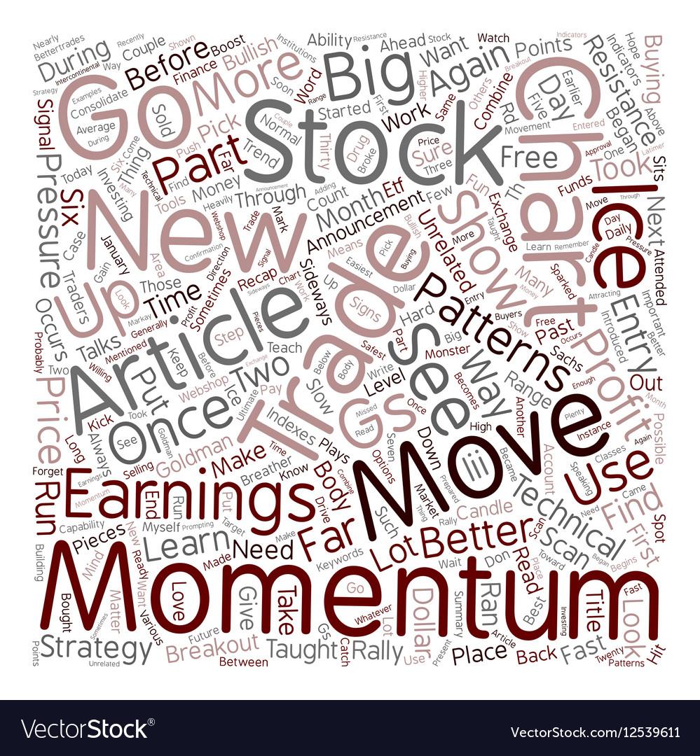 Better Trades Momentum Part 2 text background