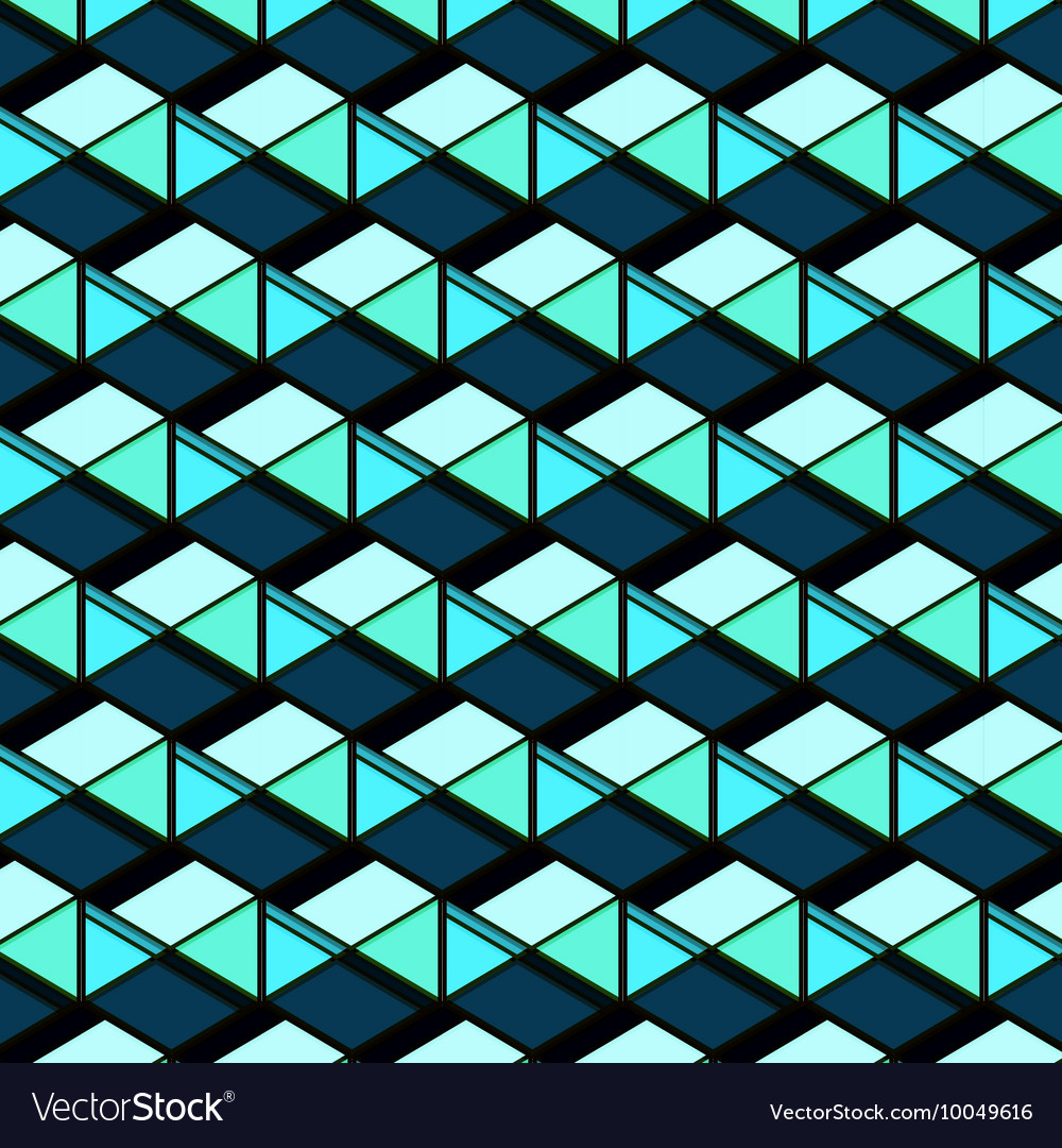 Abstract repetition geometric navy blue squares