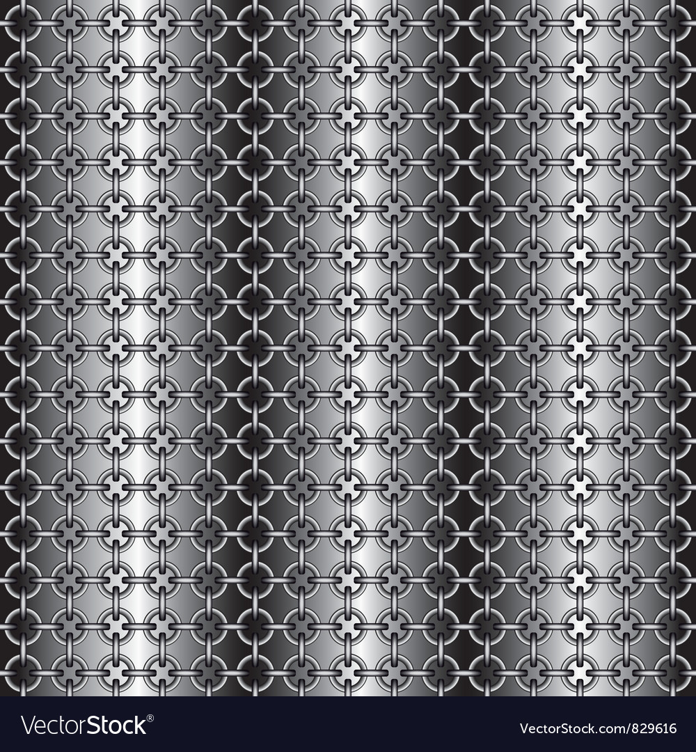 Chain armour vector image