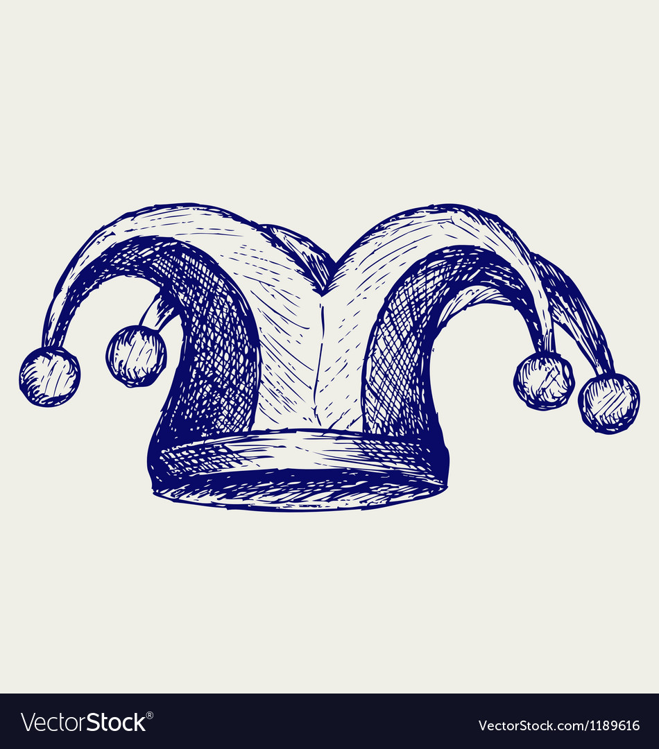 Jester hat vector