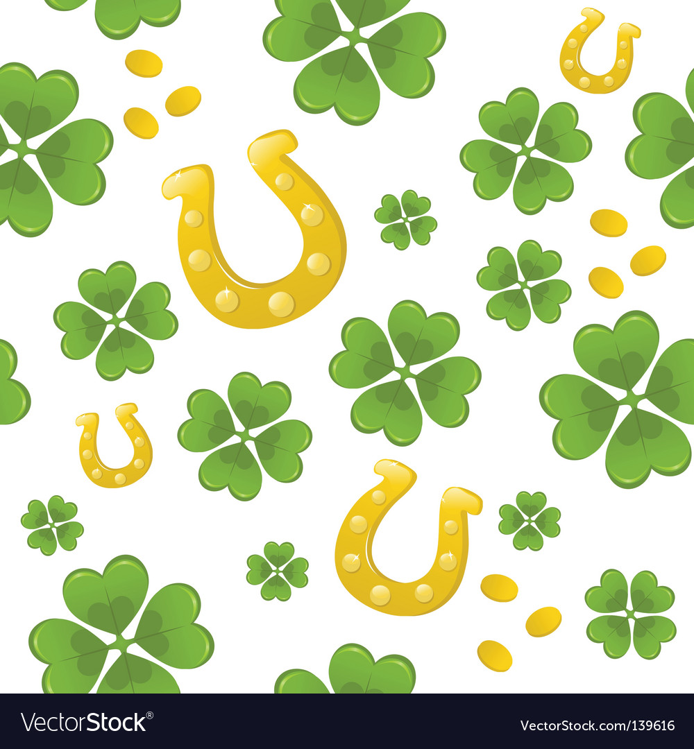 saint patricks day wallpapers. Seamless St Patricks Day Background Vector
