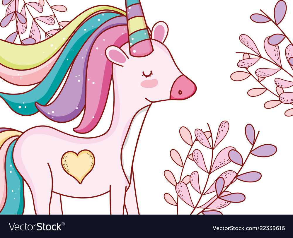 Unicorn fantasy drawing cartoon