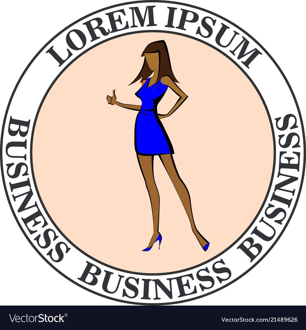 Business woman ok
