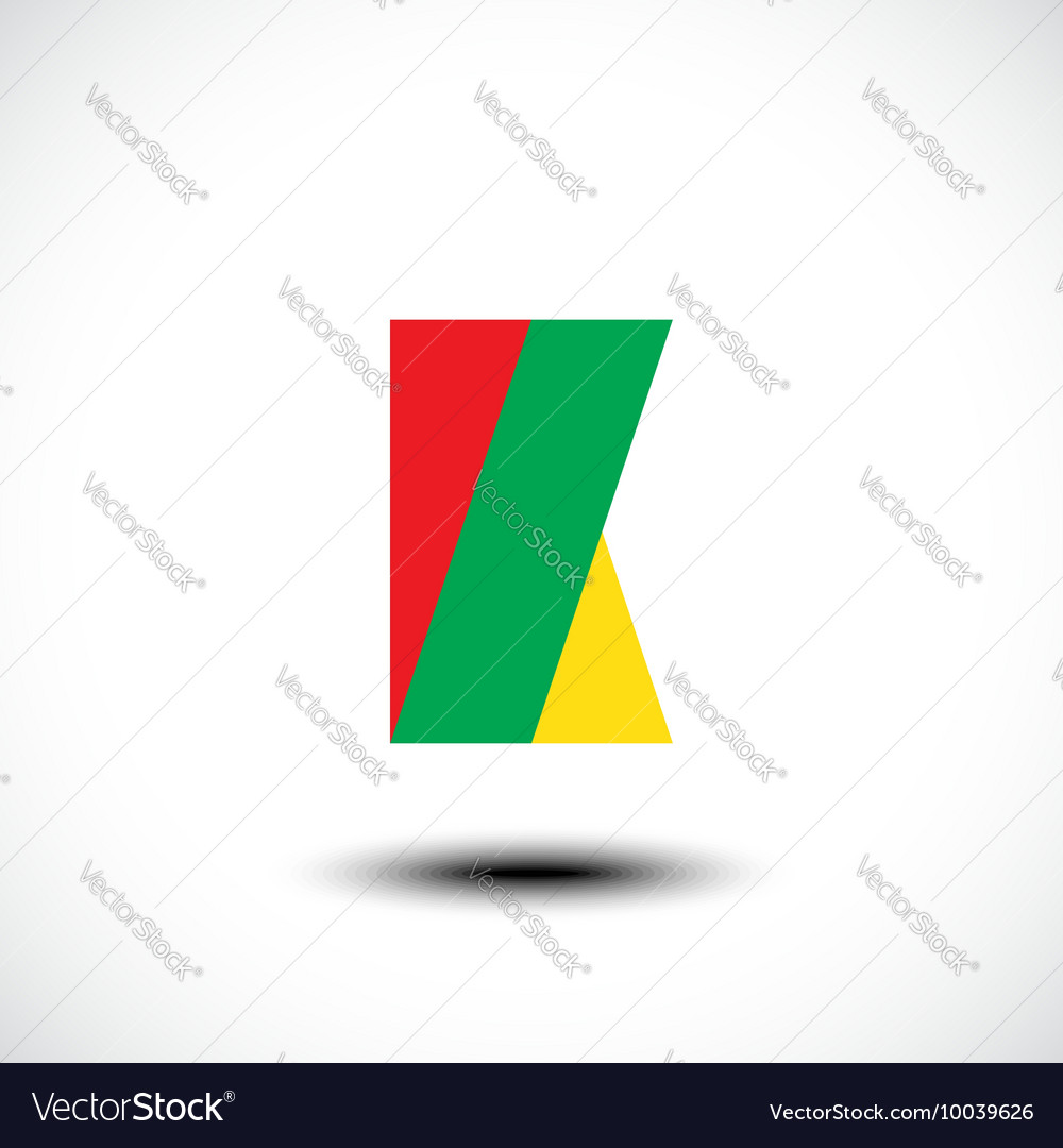 Letter K logo icon design template element